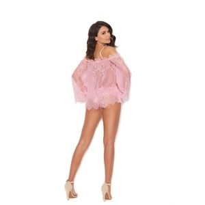 Elegant Moments Intimates & Sleepwear - Off the Shoulder Top and Panty Set